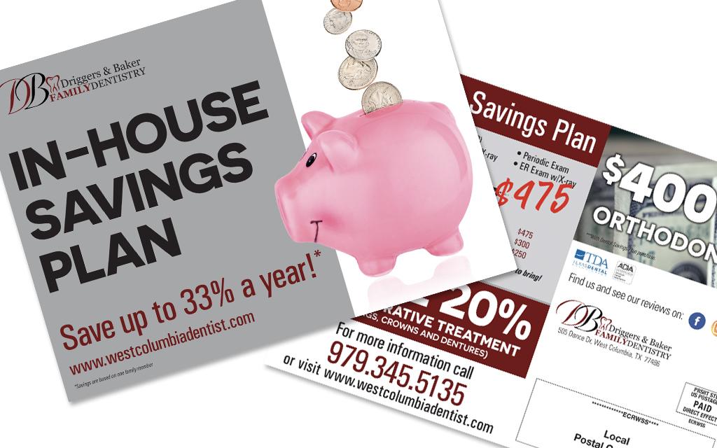 D&B Savings Postcard