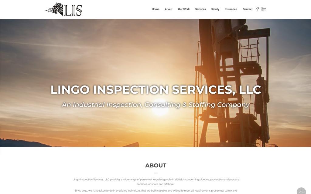 Lingo Inspection Website
